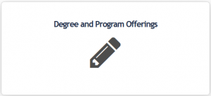 Degree and program offerings